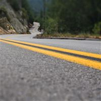 Road Line Asphalt iPad 4 wallpaper