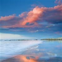 Beautiful smooth beach iPad Air wallpaper