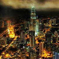 Kuala lumpur petronas towers iPad Air wallpaper
