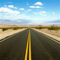 Road To Death Valley iPad Air wallpaper