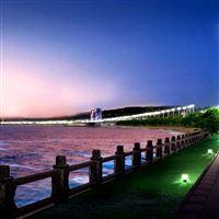 City Landscape iPad Air wallpaper