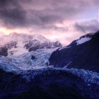 Glacier Sunrise iPad Air wallpaper