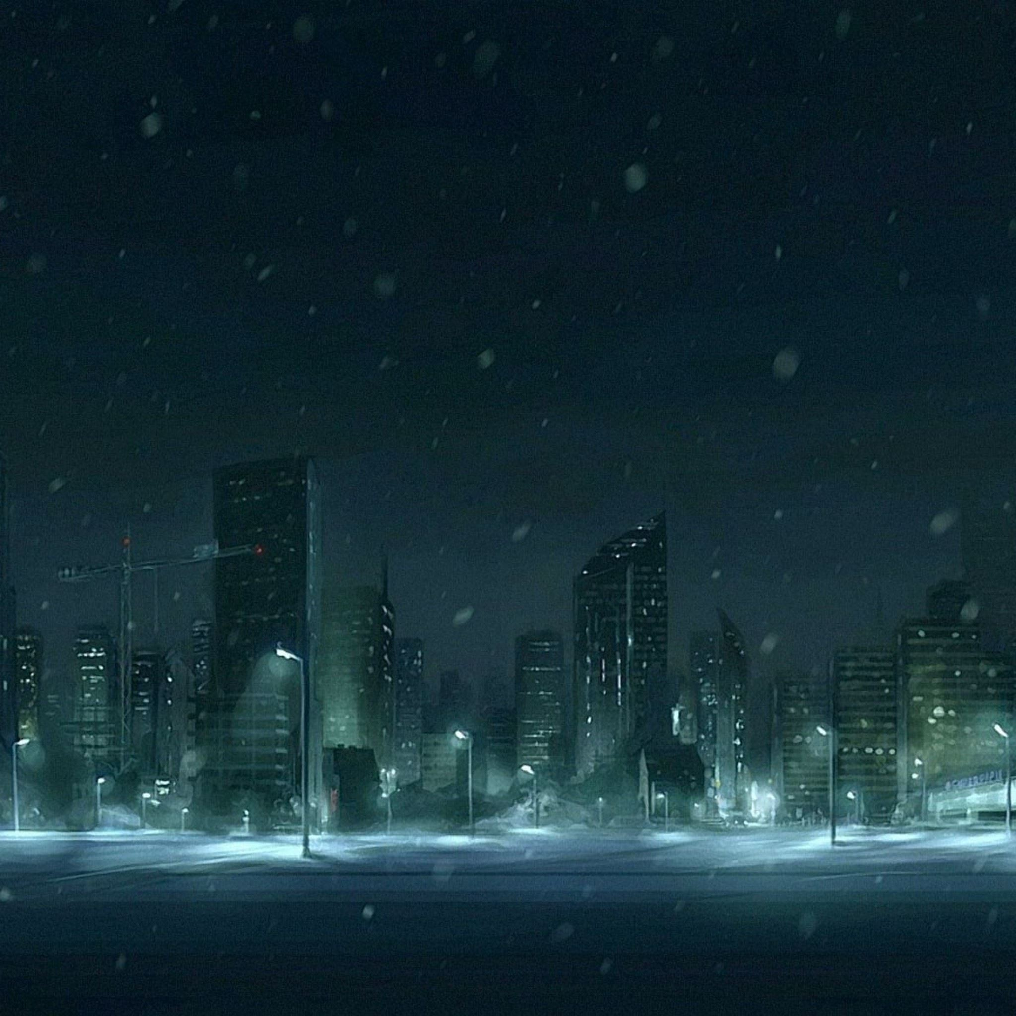 Winter Snow Figure IPad Air Wallpaper Download