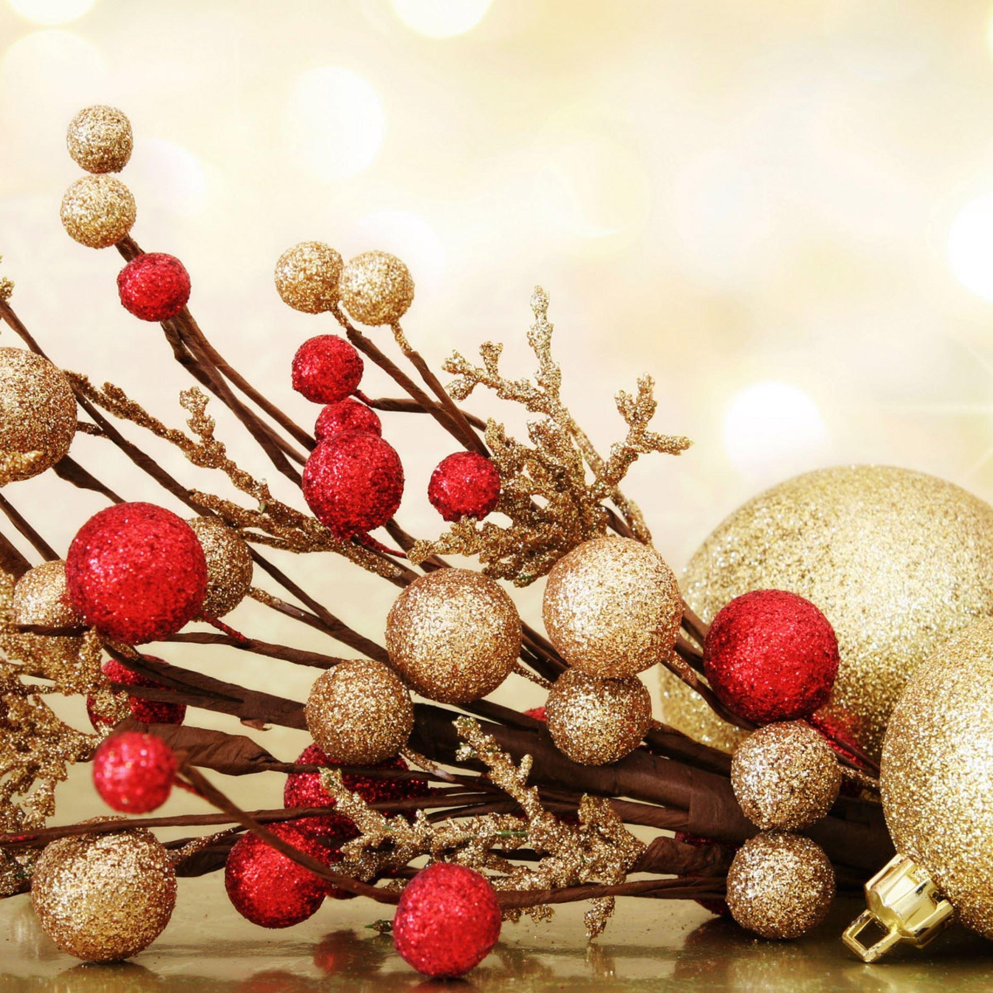 Christmas New Year IPad Air Wallpaper