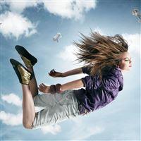 Sky Girls iPad Air wallpaper