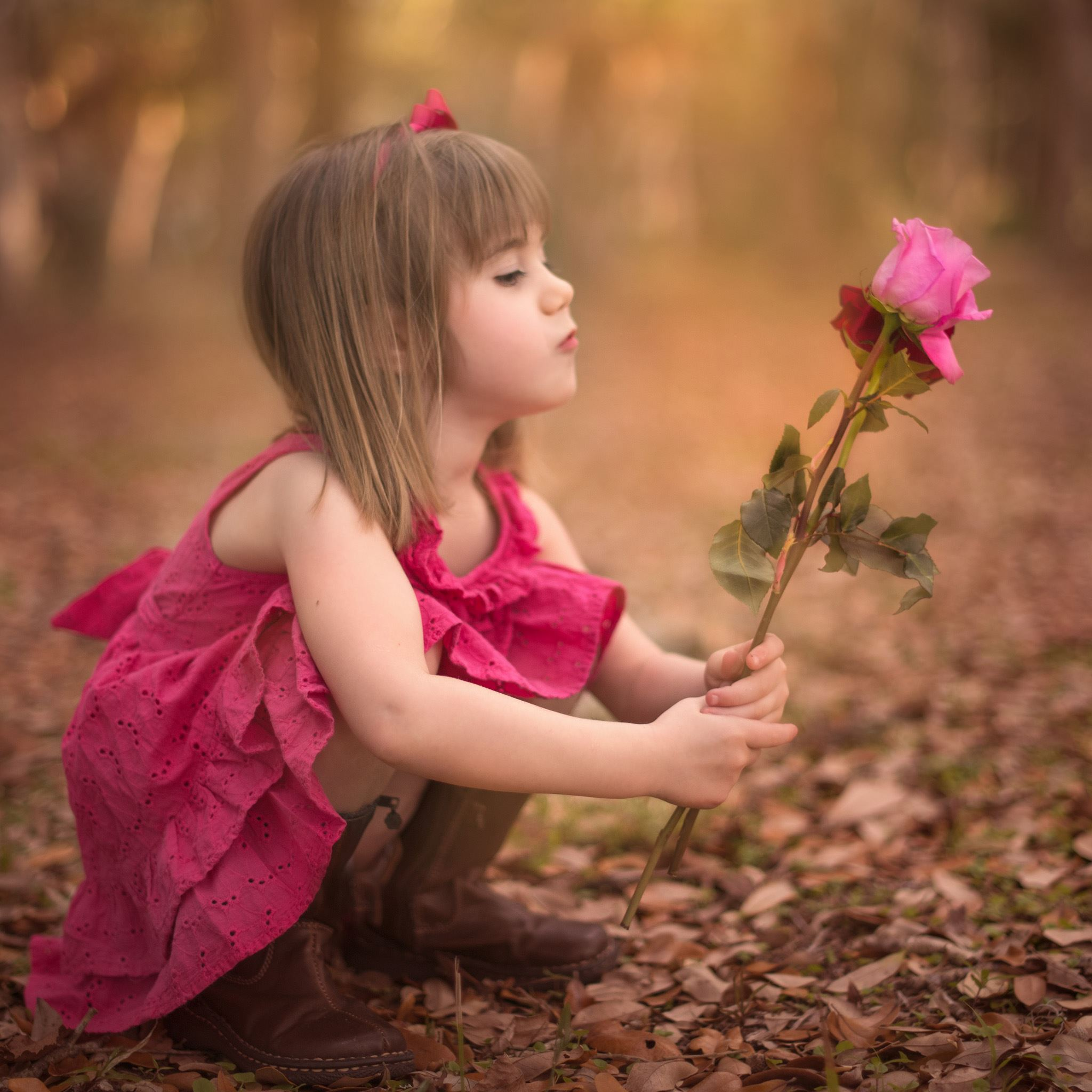 Dreamy child girl iPad Air Wallpaper Download iPhone Wallpapers