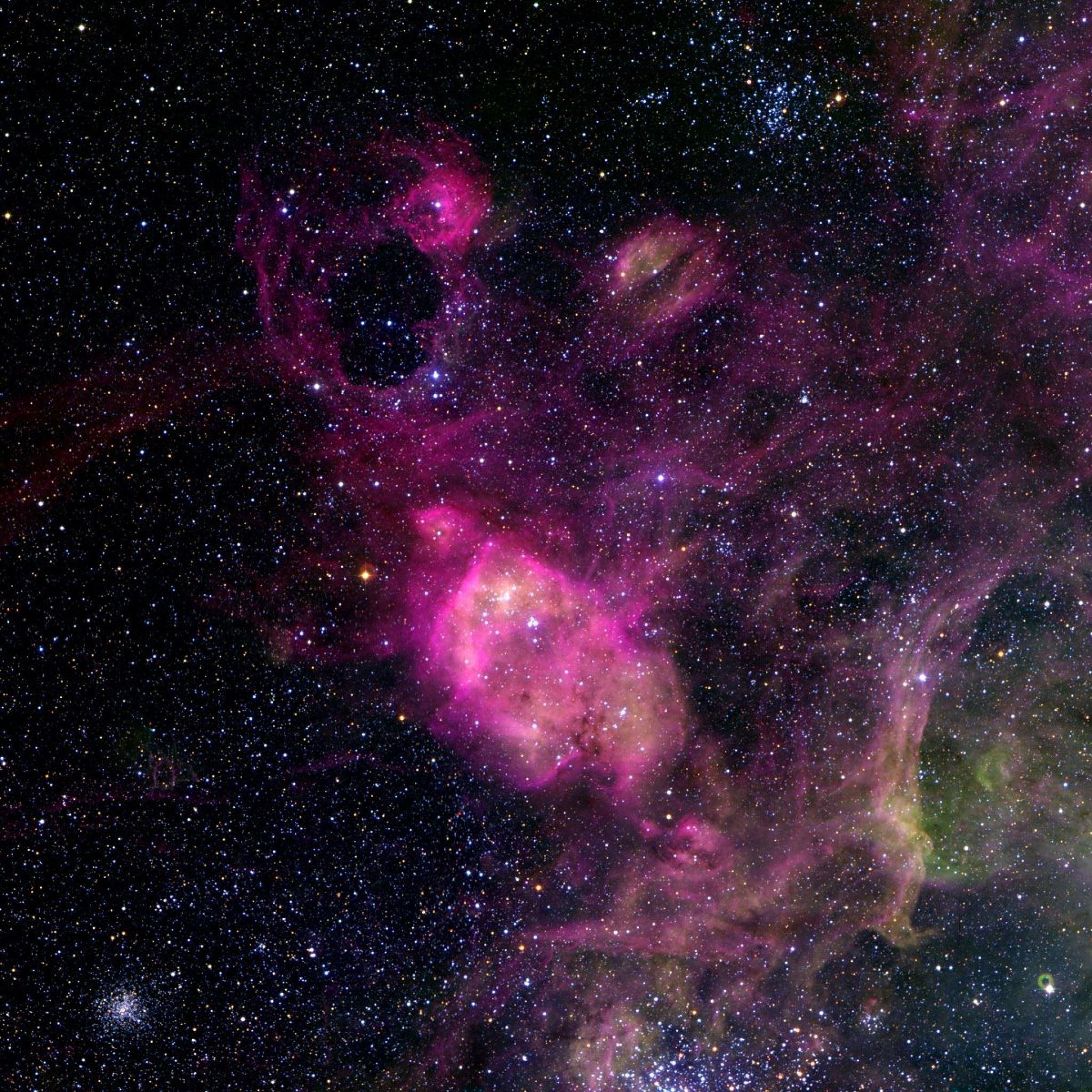 Space Nebula iPad Air wallpaper