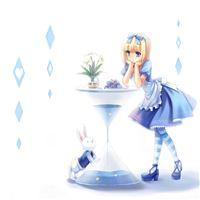 Alice In Wonderland iPad Air wallpaper