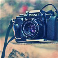 Old Camera Zenit iPad Air wallpaper