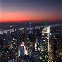 City View At Night iPad wallpaper