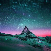 Starry Night Sky Stars iPad wallpaper