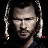 Thor Chris Hemsworth iPad Air wallpaper