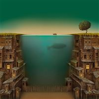 Technological Fantasy World  iPad Air wallpaper