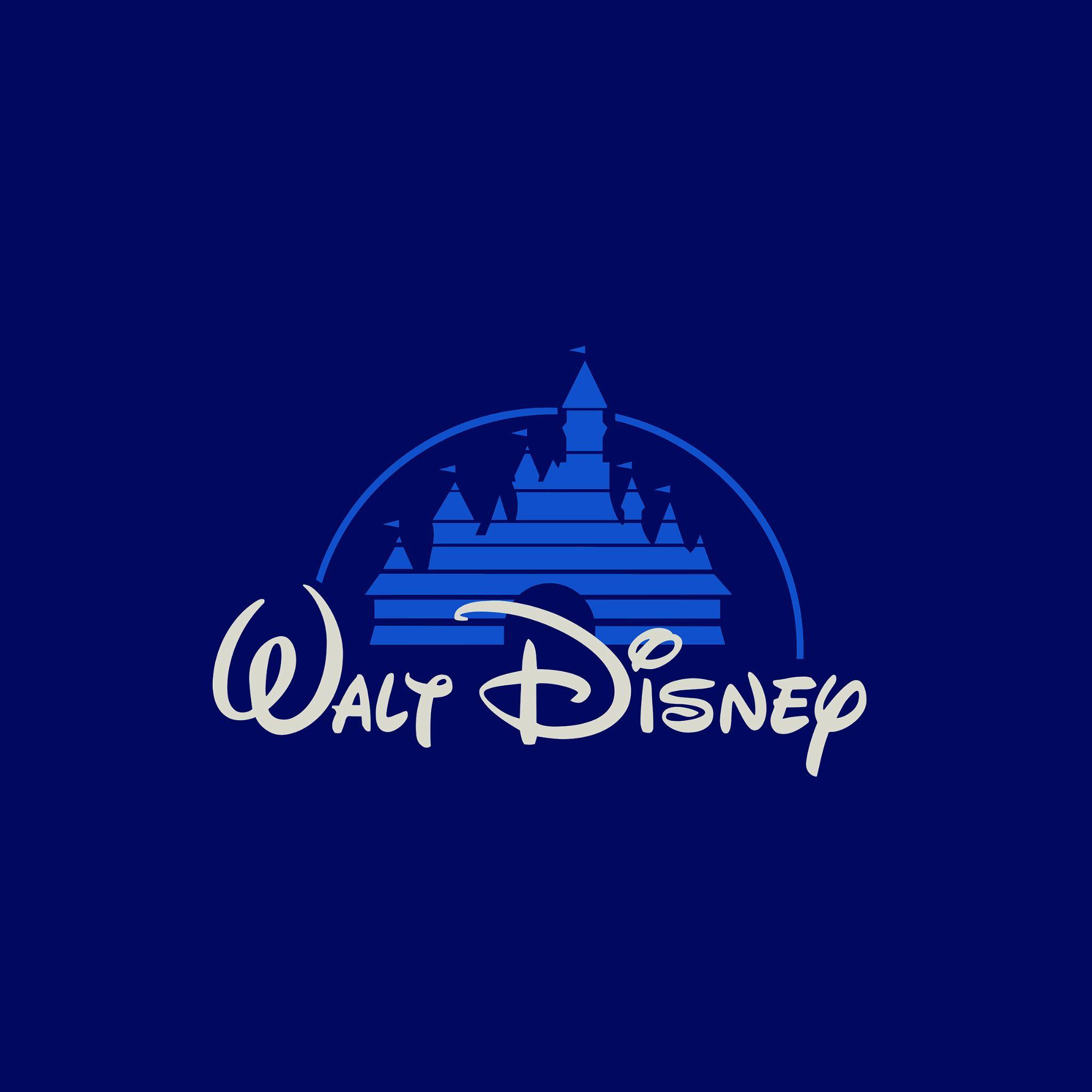 Walt Disney Logo Art IPad Air Wallpaper