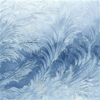 Winter Snow Window Cold Pattern iPad Air wallpaper