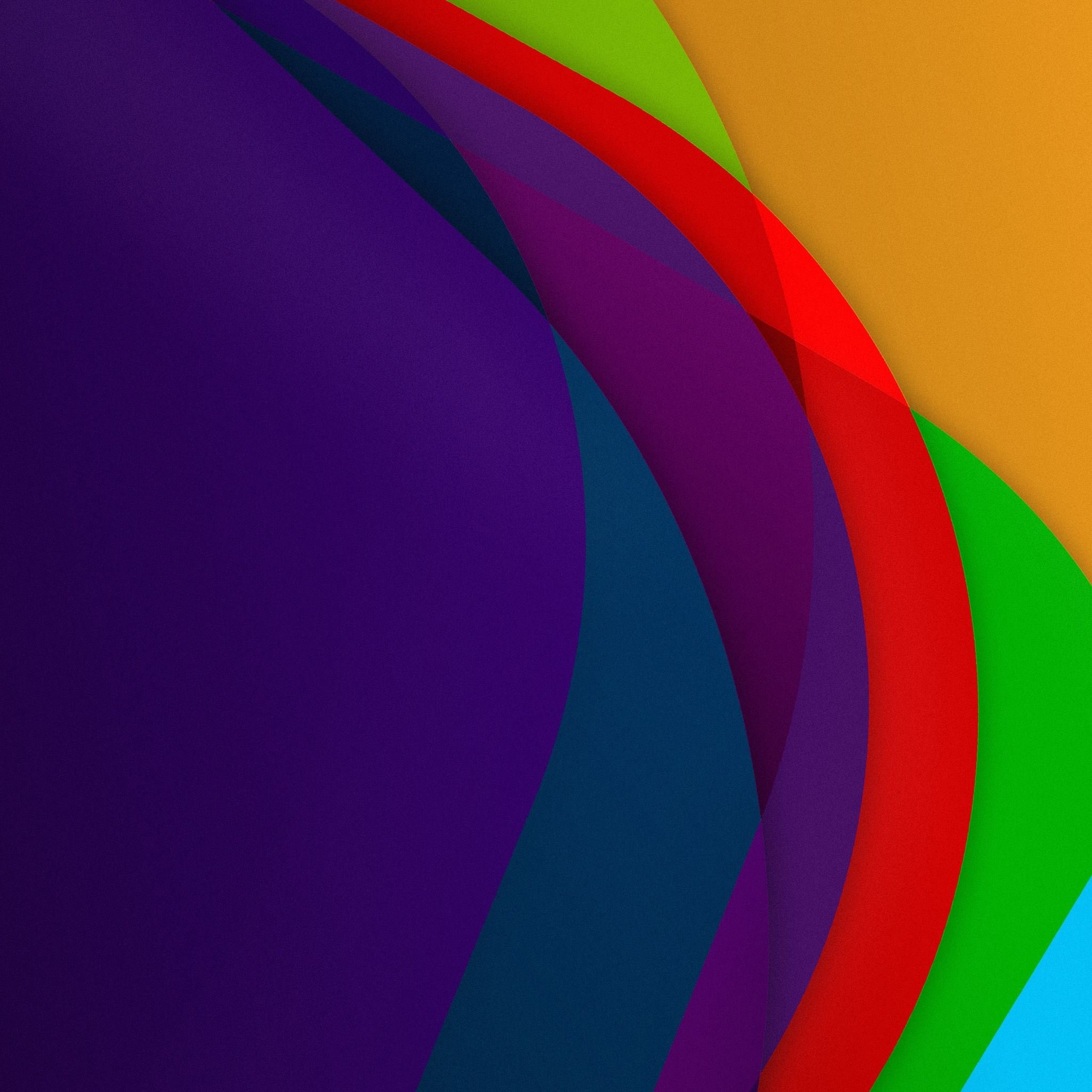IOS 7 Colorful Lines Background IPad Air Wallpaper