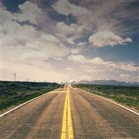 Road To Nowhere iPad Air wallpaper