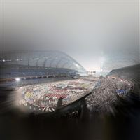 Sochi 2014 Olympics Russia Stadium iPad Air wallpaper