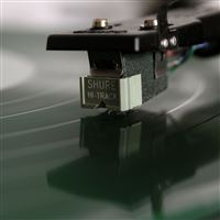 Vinyl Player Macro iPad wallpaper