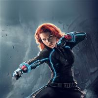 Avengers Age Of Ultron Black Widow Hero Film iPad Air wallpaper
