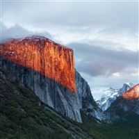 Nature Cloudy Sky Mountains Landscape Scenery iPad Air wallpaper