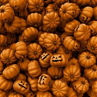 Halloween Pumpkins iPad Air wallpaper