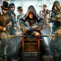 Assassins Creed Syndicate iPad Air wallpaper