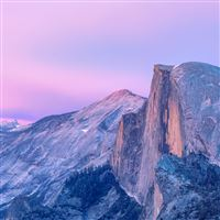 Purple Magnificent Mountains Landscape iPad Air wallpaper