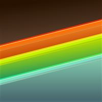 Abstract Colorful Rainbow Stripe Pattern iPad Air wallpaper