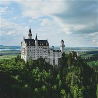Neuschwanstein Castle Germany iPad Air wallpaper