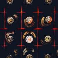 Alcohol Bottle Drink Night Fun iPad Air wallpaper