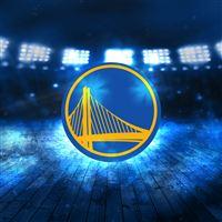 Golden State Warriors Logo NBA Sports Art Illustration iPad wallpaper