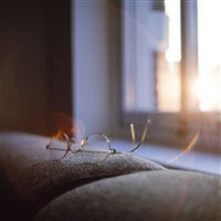 Lonly Quiet Day Home Glasses Sunlight iPad wallpaper
