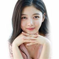 Yoojung Kim Kpop Girl Smile iPad Air wallpaper