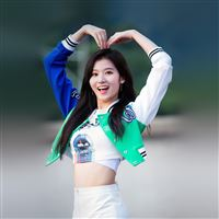 Kpop Sana Heart Love Cute Girl Celebrity iPad wallpaper