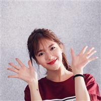 Suji Kpop Cute Smile iPad Air wallpaper