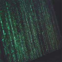 Matrix Minimal Coding Screen Computer Green Dark iPad Air wallpaper