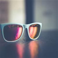 Glasses Sun Minimal Bokeh iPad Air wallpaper