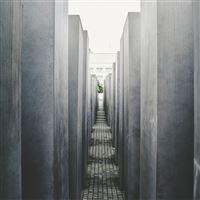 Architecture Building City Art Gray iPad wallpaper