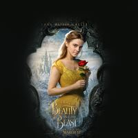 Beauty Beast Poster Disney Illustration Art iPad wallpaper