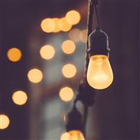Light Bokeh Art City Living Home iPad Air wallpaper