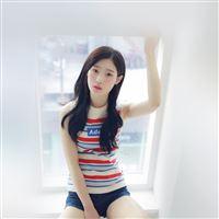 Chaeyeon Ioi Kpop Girl White Cute iPad Air wallpaper