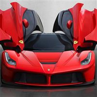 LaFerrari Concept Super Luxury Sports Car iPad wallpaper