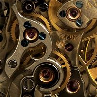 Industry Mechanical Gear Combination iPad wallpaper