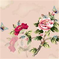 Vintage Floral Pattern Background iPad Air wallpaper