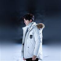 Gongyoo Winter Doggaebi Kpop iPad Air wallpaper