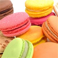 Macaron French Confection Dessert iPad Air wallpaper