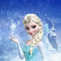 Elsa Frozen Queen iPad wallpaper
