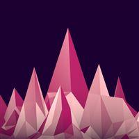 Graphics Low Poly Digital Art Minimalism iPad wallpaper