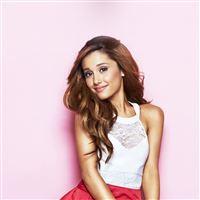 Ariana Grande Singer Music Girl Pink iPad Air wallpaper